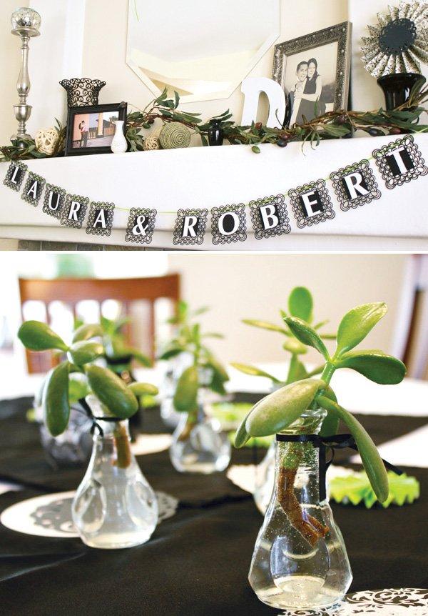 Vibrant & Modern Spanish Bridal Shower // Hostess with the ...