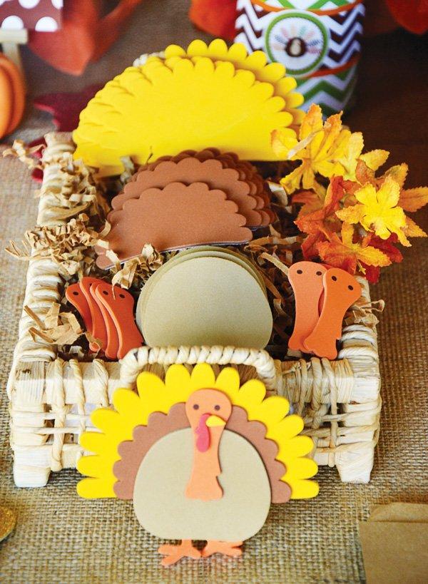 turkey foam kids craft