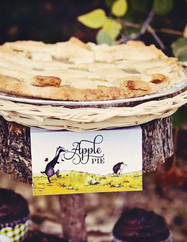 woodland apple pie