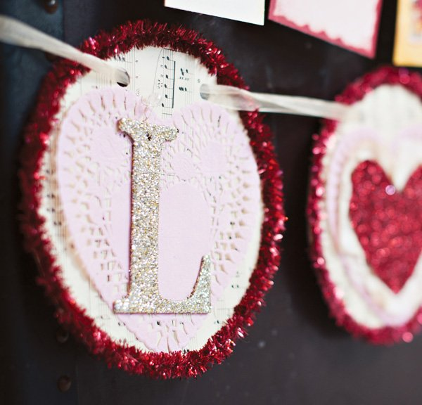 love valentine banner