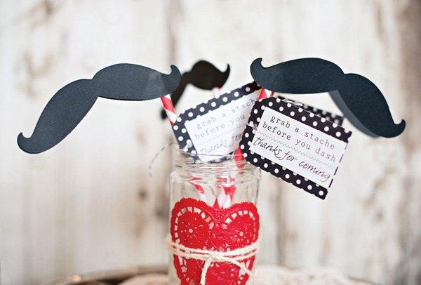 mustache valentines day