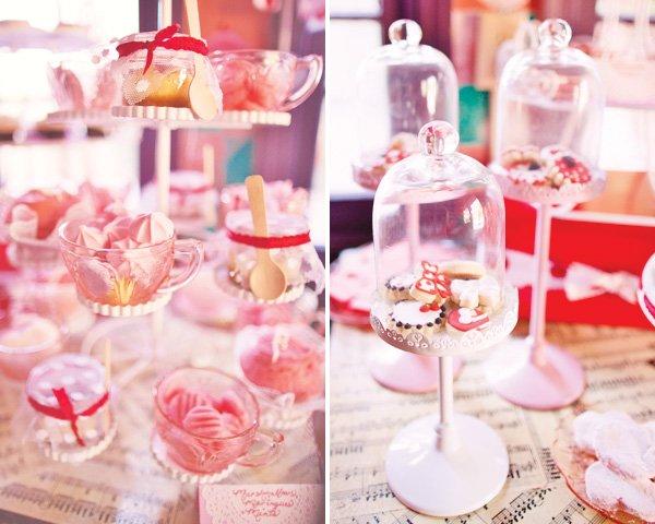 shirley temple vintage dessert table