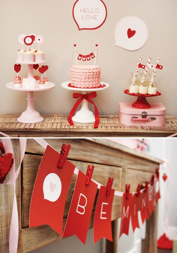 hello love valentine party