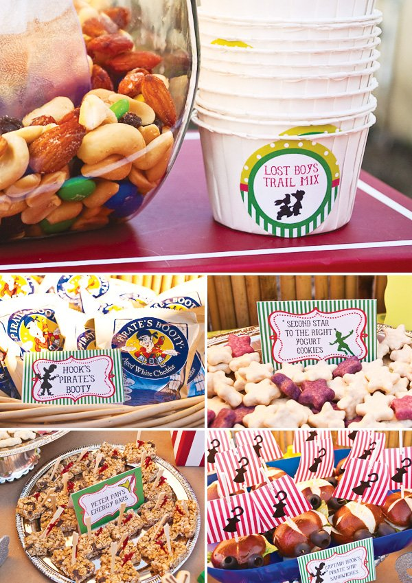 Peter Pan Inspired Party Food