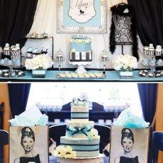 Breakfast at Tiffany's inspired baby shower
