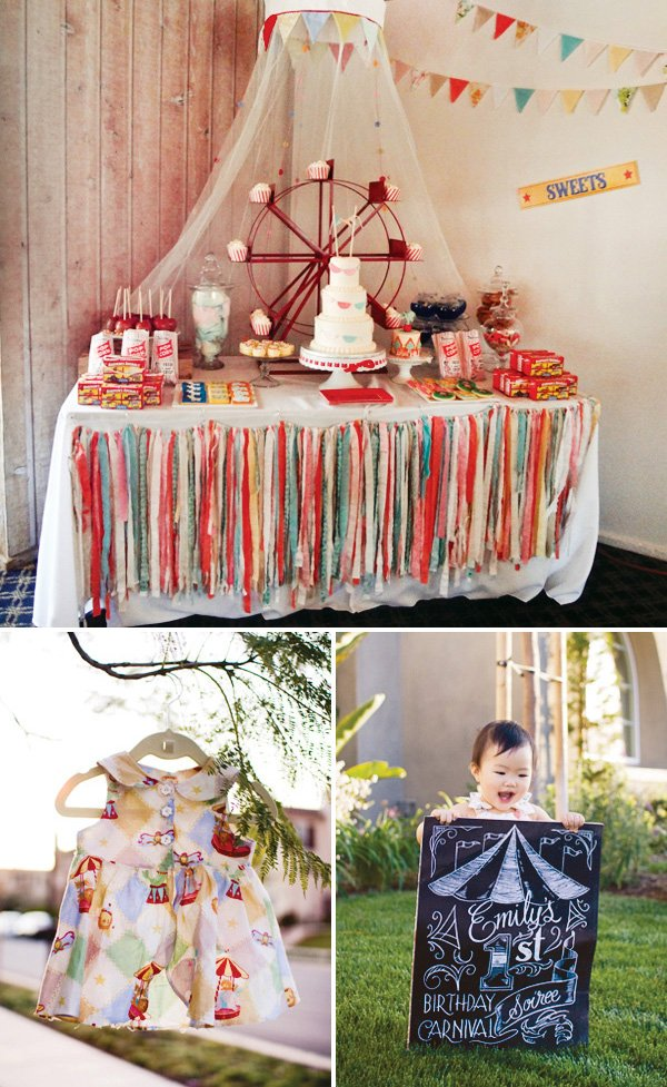 Spectacular Vintage Circus Theme First Birthday Hostess With The Mostess