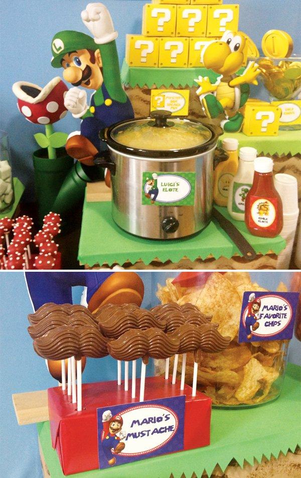 Super Mario Bros Party Ideas Hostess With The Mostess
