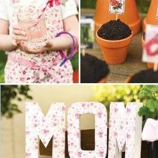 spring mother's day party ideas