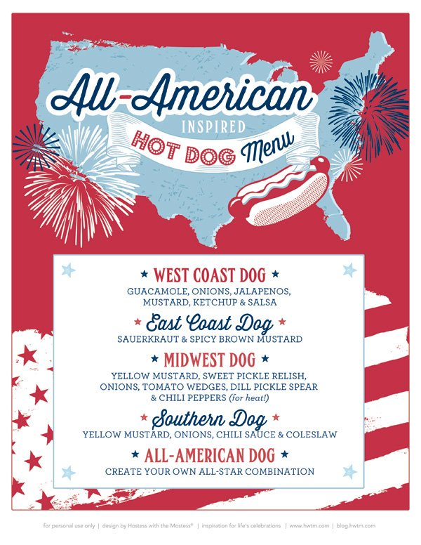 4th of July County Fair Inspired Printables