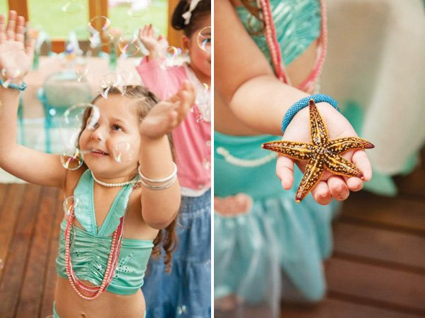 Mermaid birthday party activities