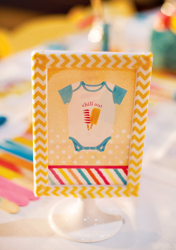 baby onesie sign