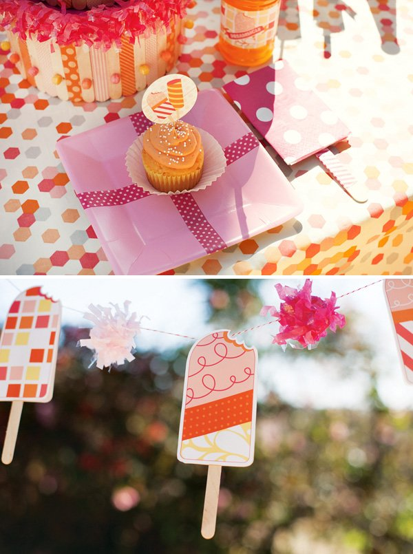popsicle garland