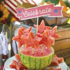 watermelon star skewers