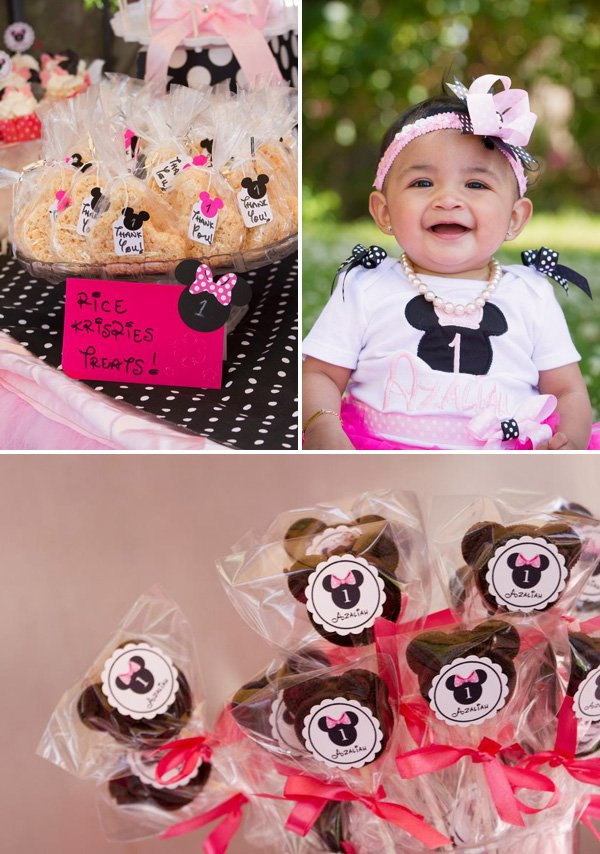 Minnie Mouse Clubhouse Birthday Party