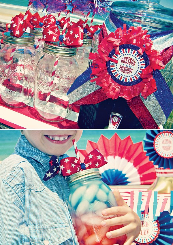 Patriotic Party Drink Station