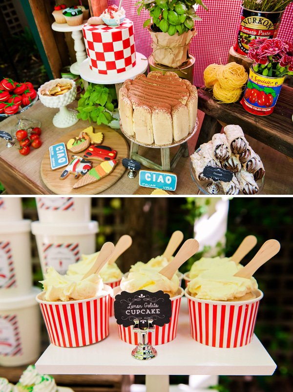 la dolce vita italy inspired twins birthday party hostess with