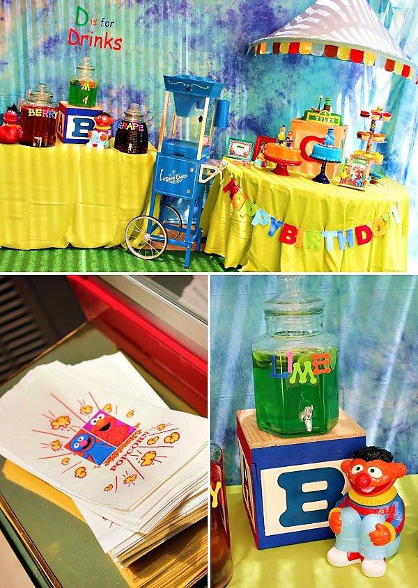 Funky Amp Fun Sesame Street Birthday Party Hostess With