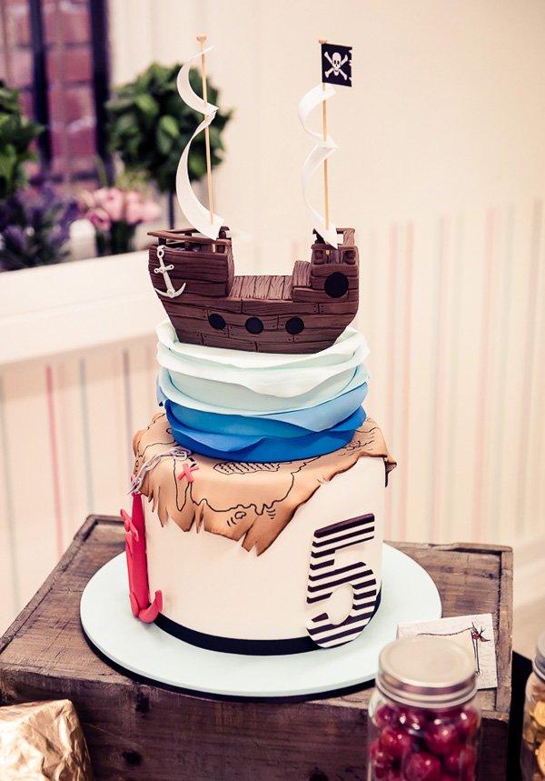 amazing pirate cake