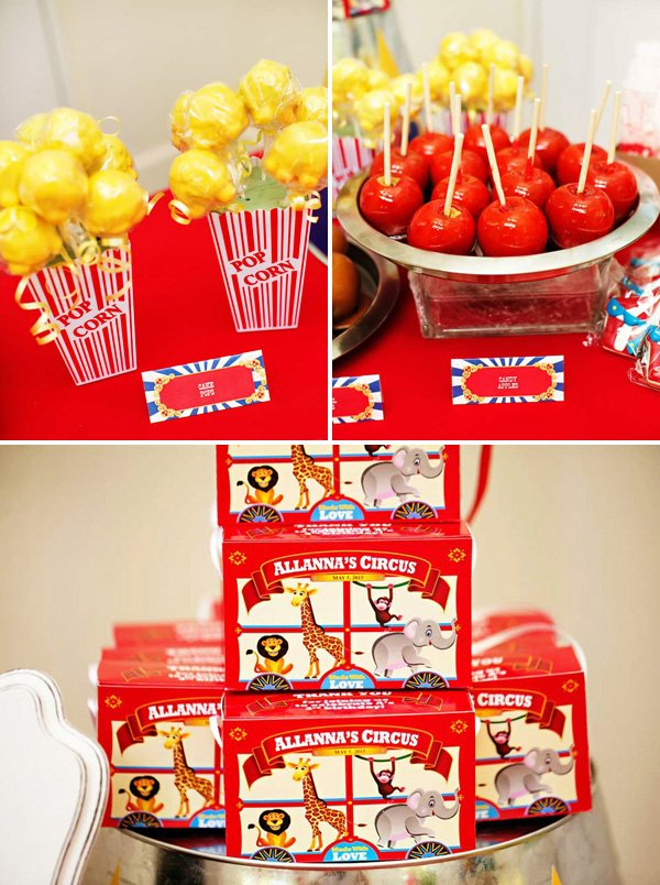 circus animal cookie boxes