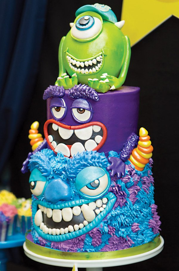 Incredible Monsters University 1st Birthday Extravaganza Hostess With The Mostess