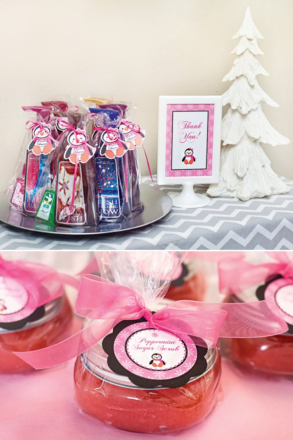 bed bath and beyond winter soap party favors