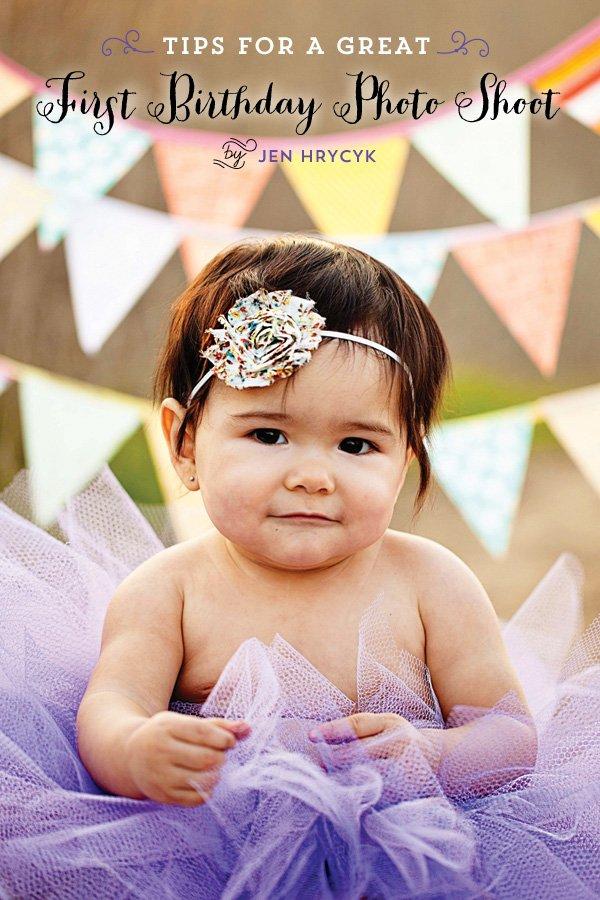 first birthday photo shoot tips