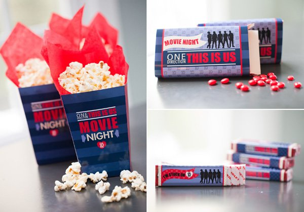 one direction party decor