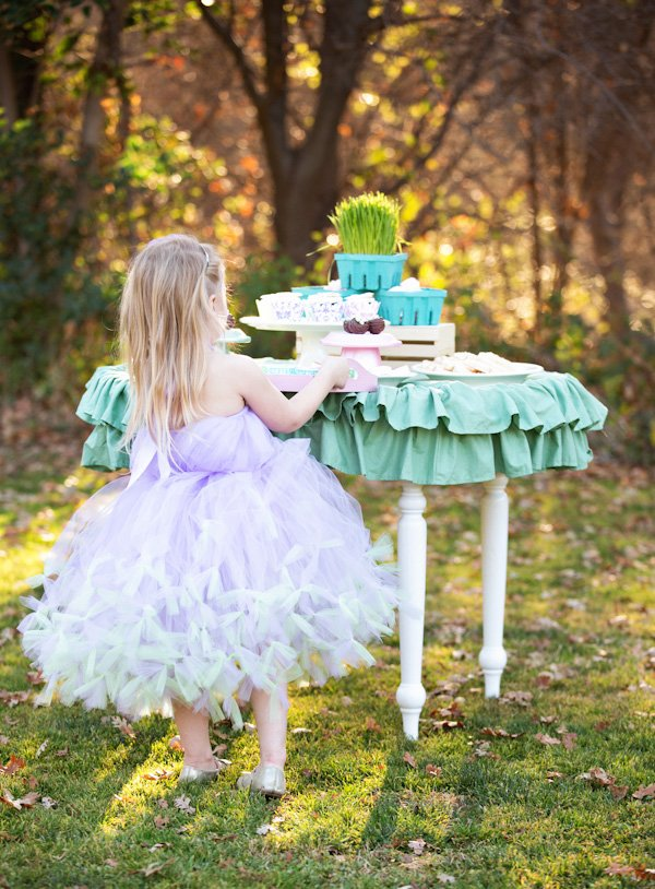 Easter tutu party outfit