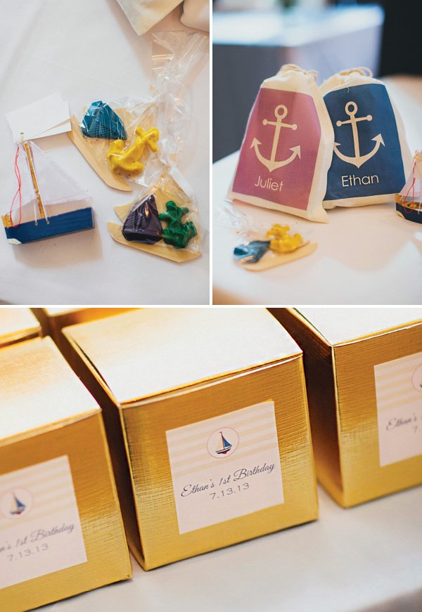 nautical birthday party favors