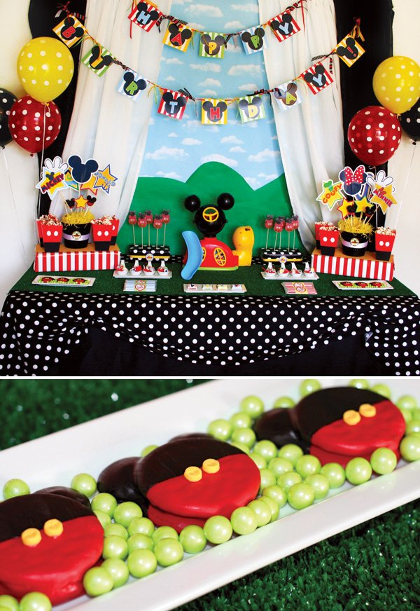 Mickey Mouse Clubhouse Birthday Party Hostess With The Mostess