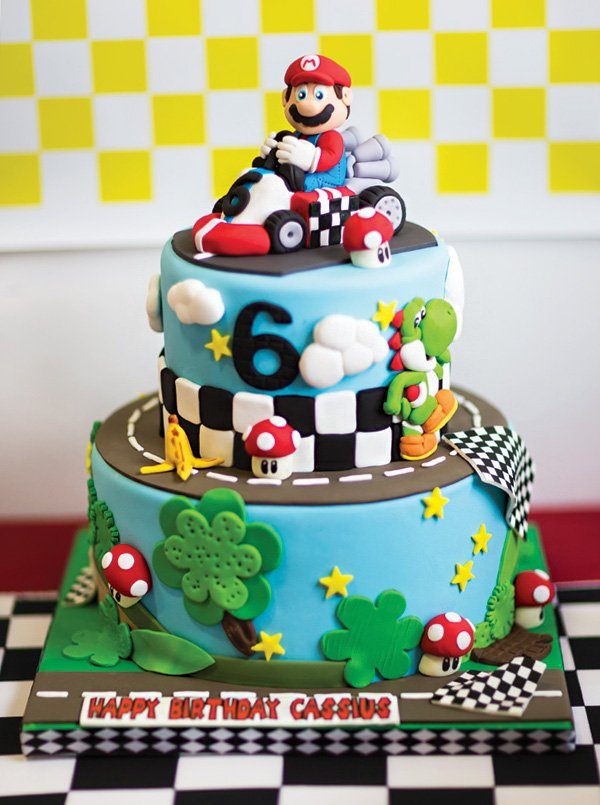 Mad Dash Racing Mario Kart Birthday Party Hostess With The Mostess
