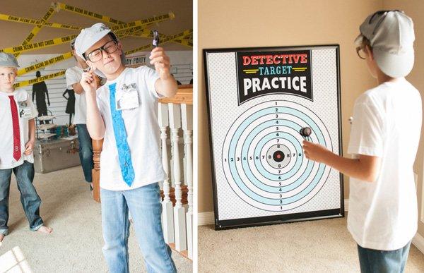 detective target practice