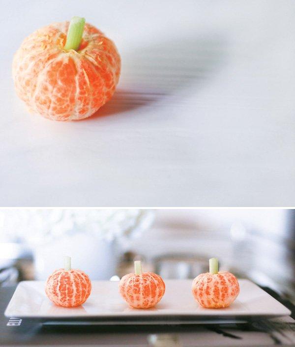 clementine pumpkins for halloween