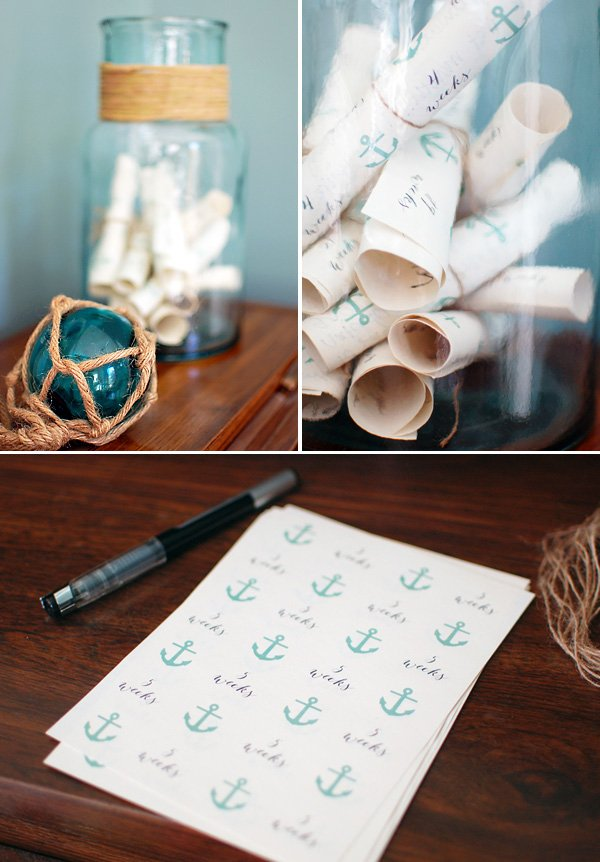 nautical baby shower messages