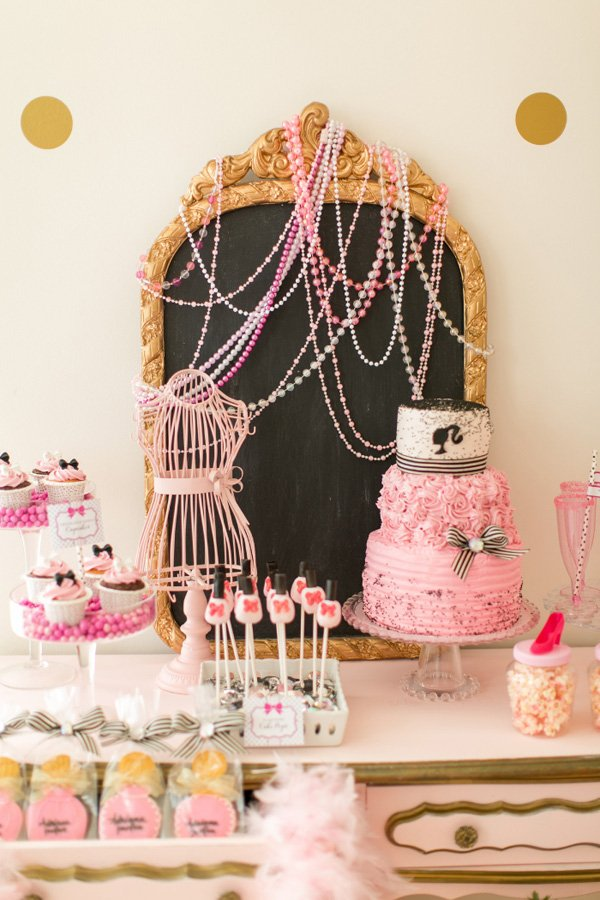 barbie spa party