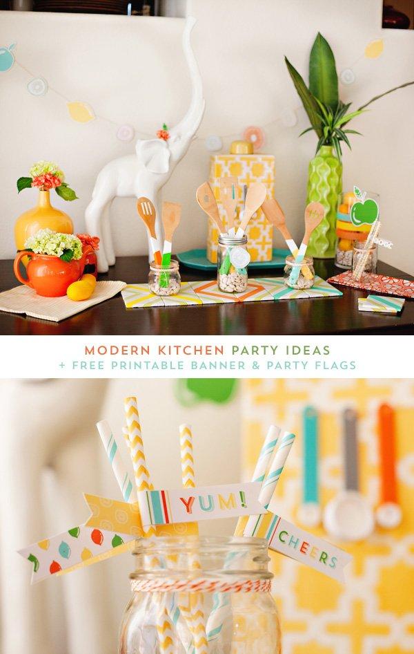 Modern Kitchen Party Theme Ideas