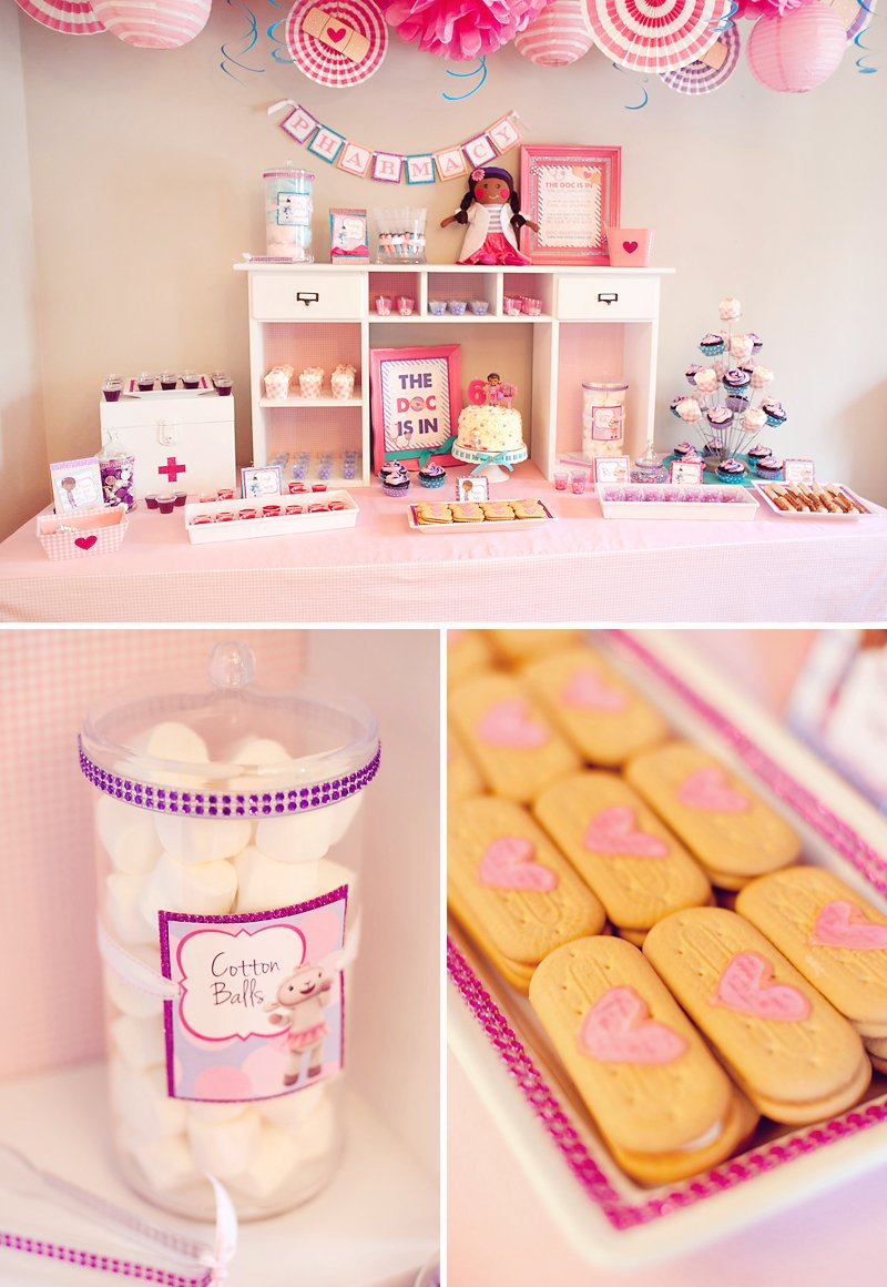 Glitzy Adorable Doc Mcstuffins Birthday Party Hostess With The Mostess
