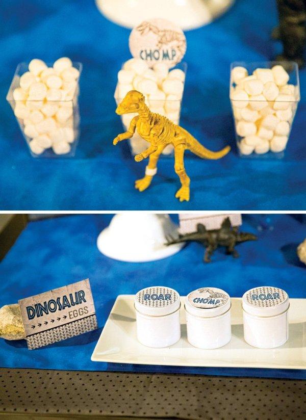 dinosaur party snack ideas