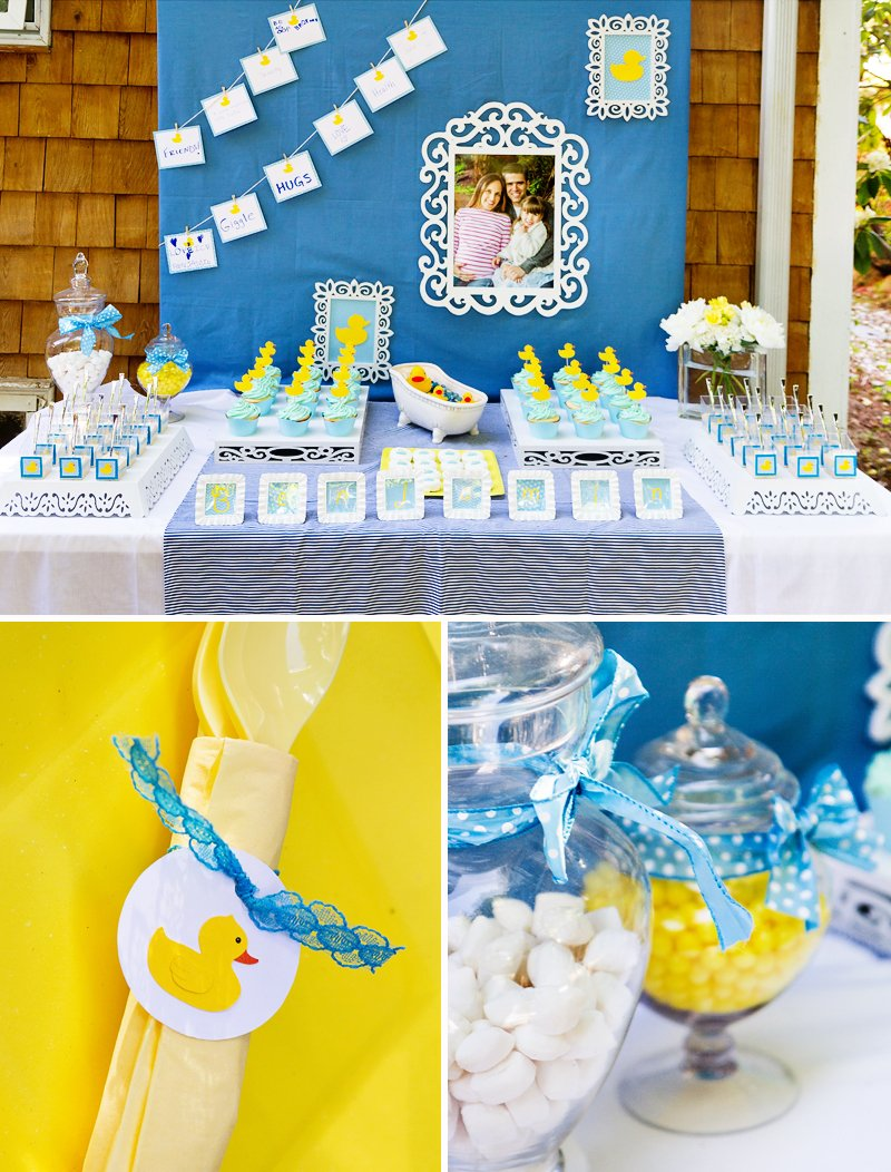 Crafty Charming Rubber Ducky Baby Shower Hostess With