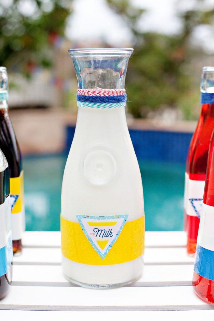 milk carafe - nautical theme