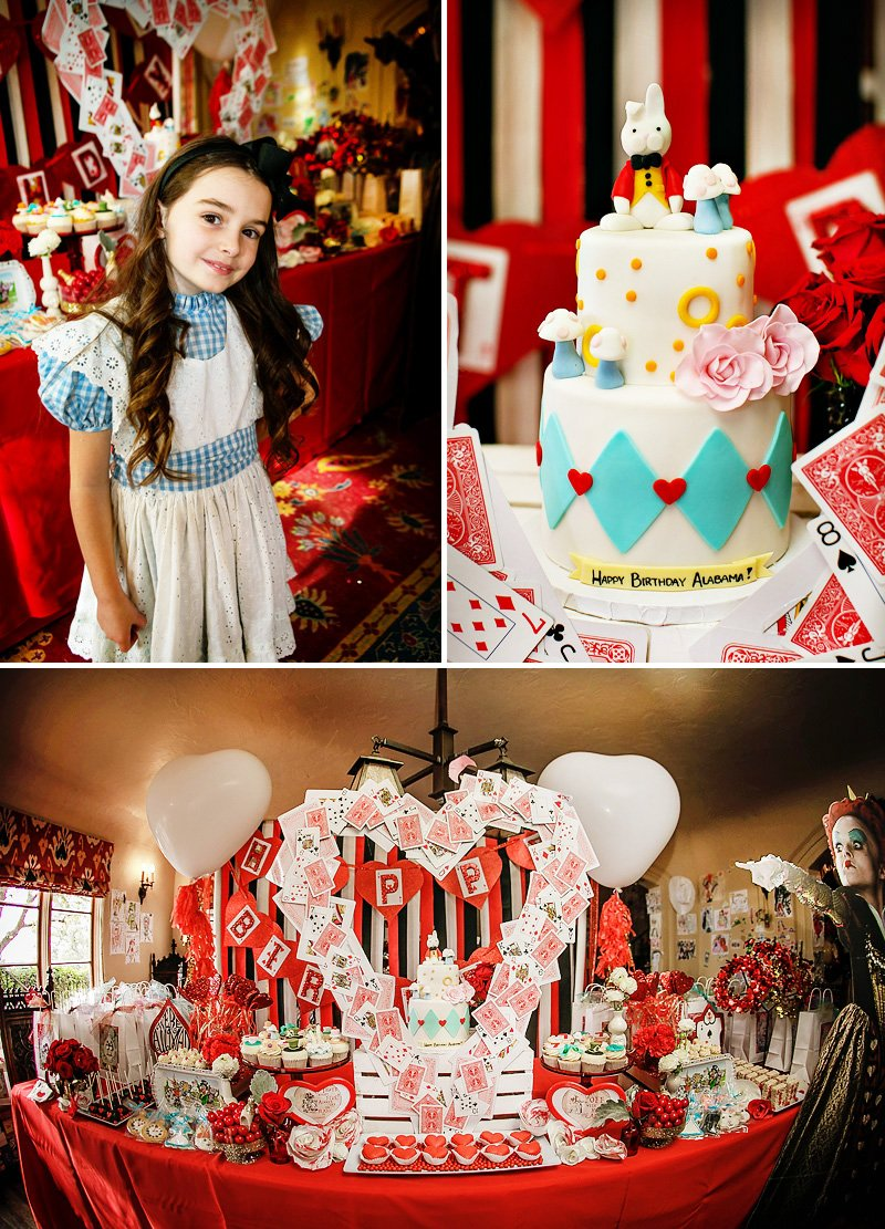 Alice In Wonderland Birthday Party Whimsy Fantasy Hostess With The Mostess