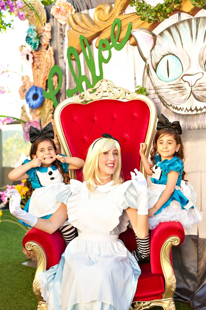 Alice in Wonderland Party Costumes - Kids and Adult