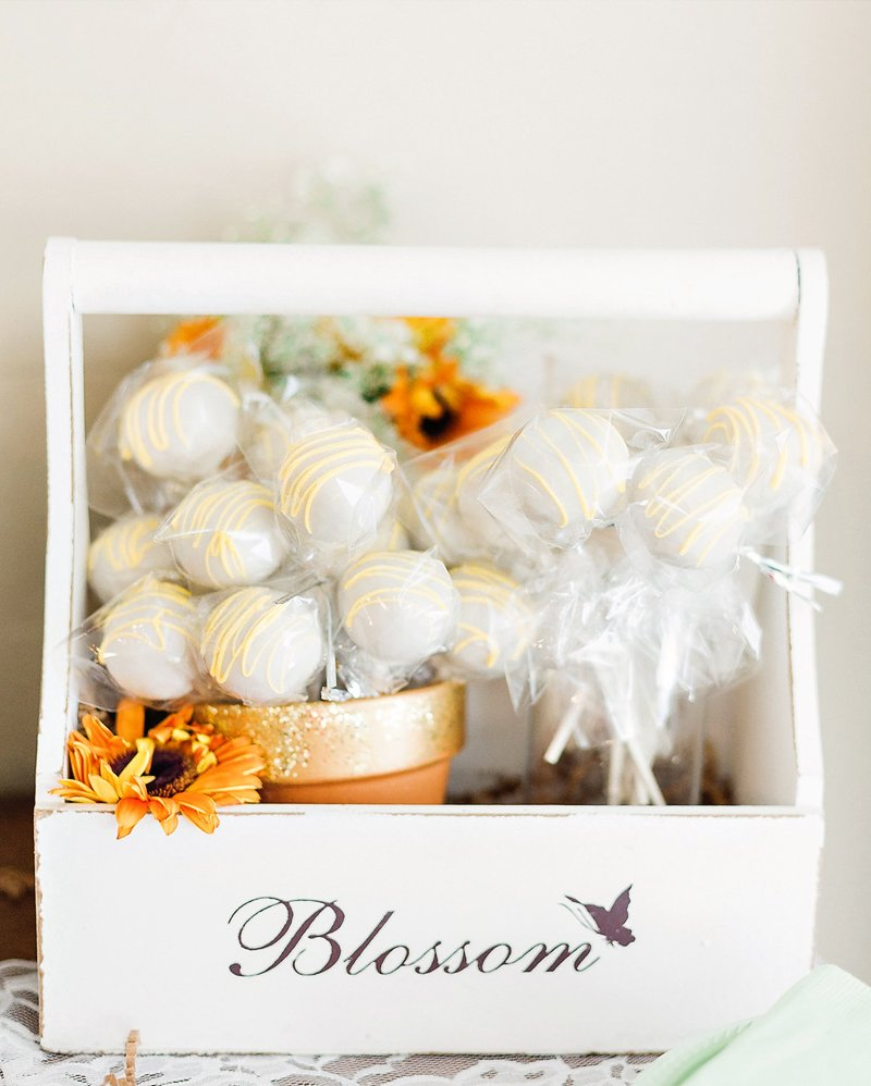 blooming baby shower