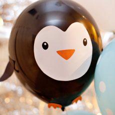 DIY Penguin Party Balloons