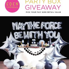 Star Wars Party in a Box - Eden Celebrations