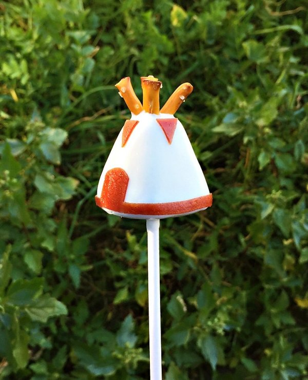 Teepee Cake Pops Tutorial