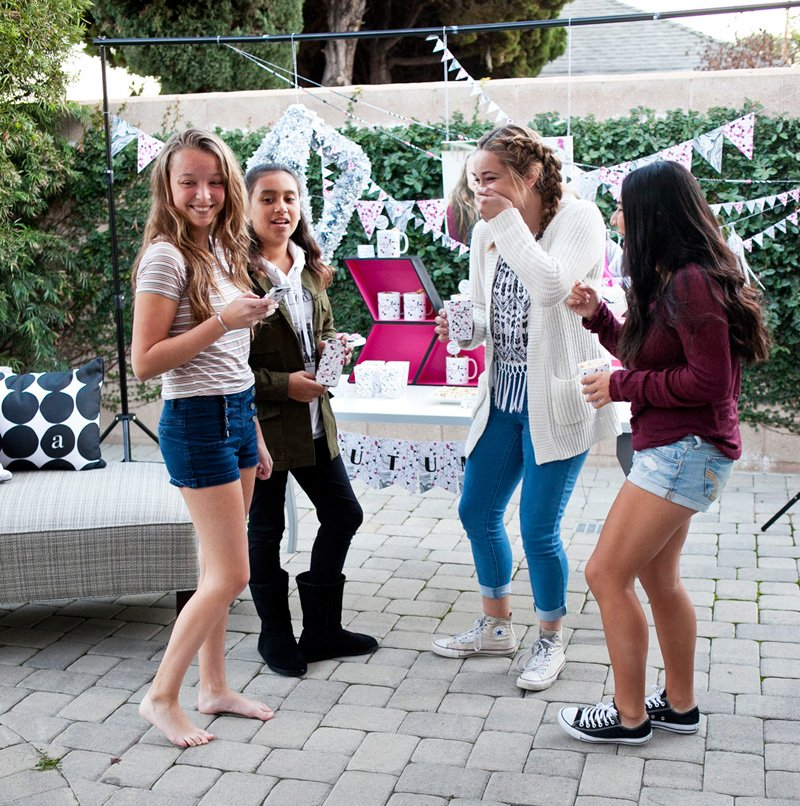 Teen Birthday Party Guests