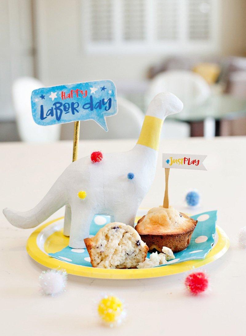 cute dinosaur decoration for kids