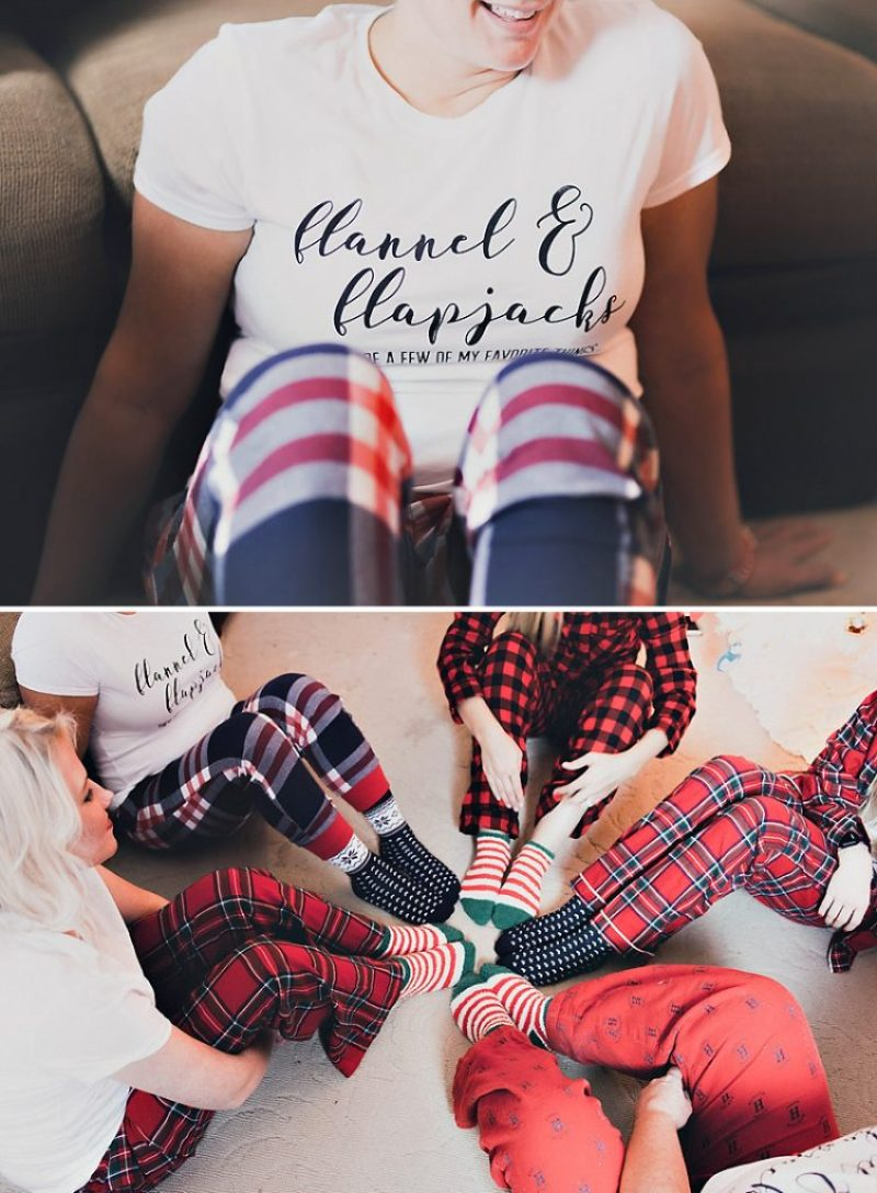 Flannels and Flapjacks Party Shirt