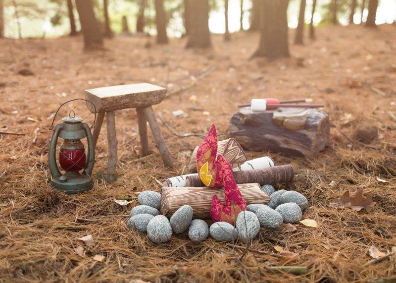 Land of Nod Campfire Toy Set
